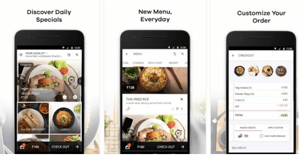 Fascoo Food delivery app
