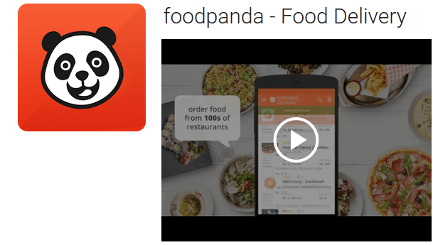 One of The Famous and Best Food Delivery Apps in India
