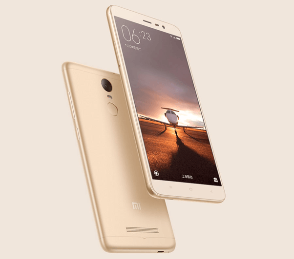 The Sparklingly Marvelous Xiaomi Redmi 3 Gold Features